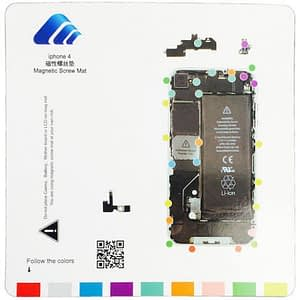 Compatible Magnetic Screw Mat Replacement For iPhone 4