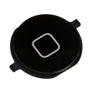 Compatible Black Home Button Replacement For iPhone 4