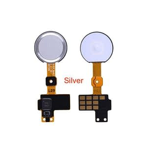 Silver Home Button Flex with Touch ID Fingerprint