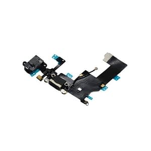 iPhone 5 Black Charging Port And Audio Jack Dock Flex