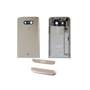 Gold Back Housing Battery Door Replacement Cover Fully Assembled